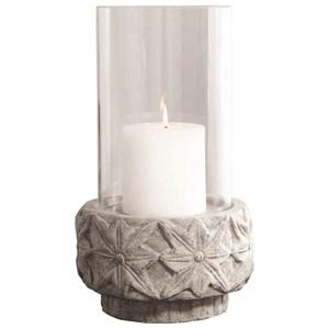 Capistrano Concrete Candleholder