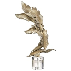 Fall Leaves Champagne Sculpture