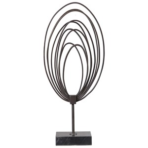 Remi Steel Ring Sculpture