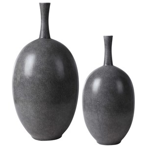 Riordan Modern Vases, Set of 2