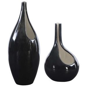 Lockwood Modern Vases, S/2