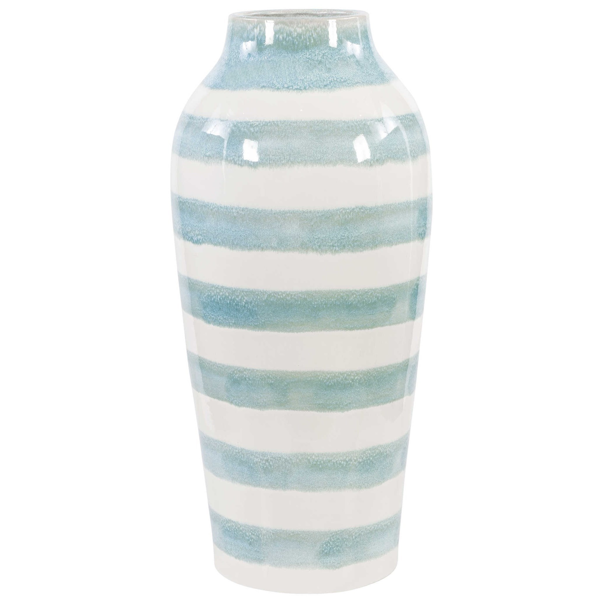 Accessories - Vases and Urns Ortun Striped Vase by Uttermost at Mueller Furniture