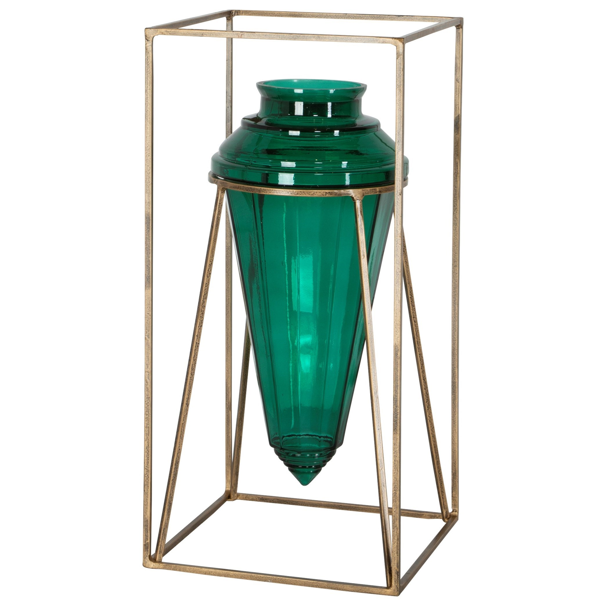 Accessories - Vases and Urns Ariga Emerald Green Vase by Uttermost at Mueller Furniture