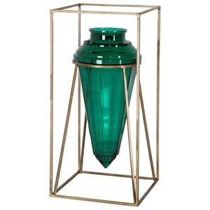 Ariga Emerald Green Vase