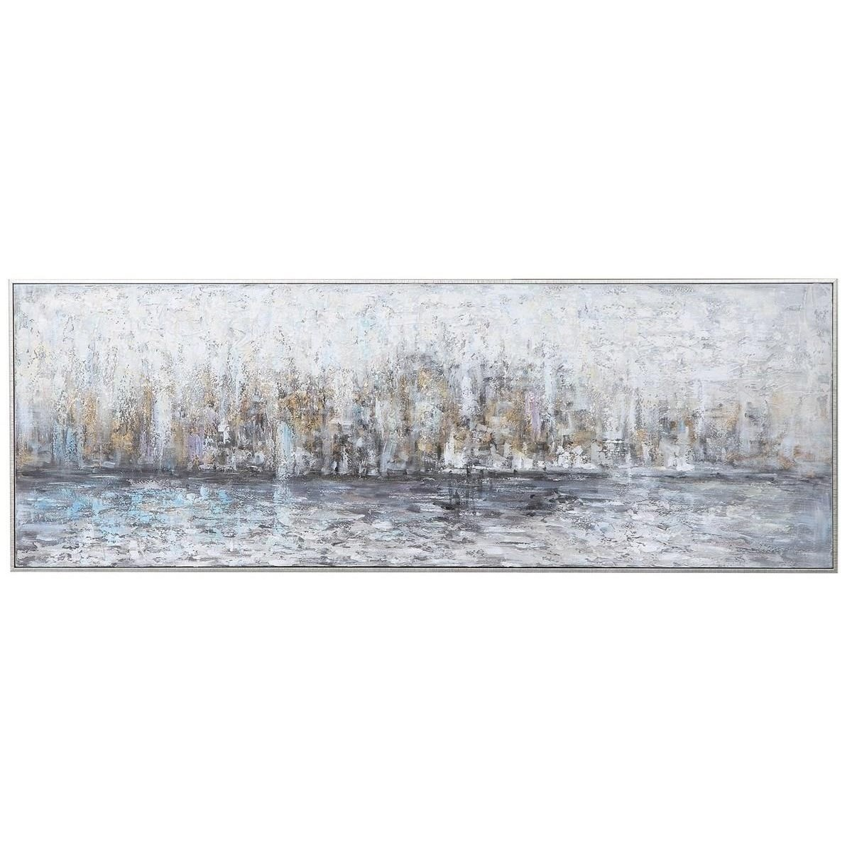 Art City Reflection Hand Painted Canvas by Uttermost at Mueller Furniture