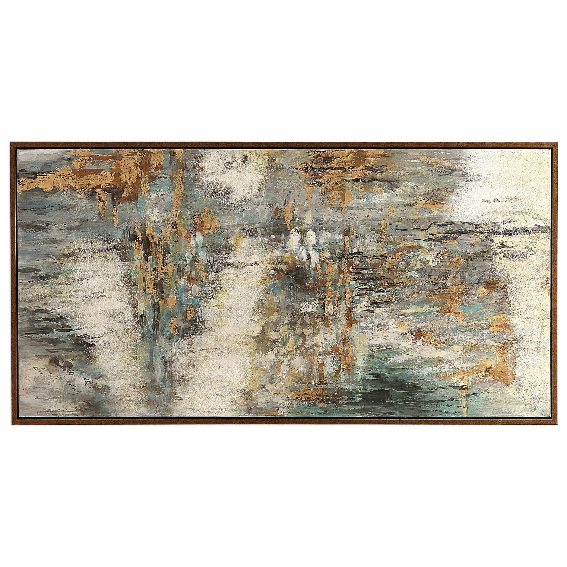Art Behind The Falls Abstract Art by Uttermost at Mueller Furniture