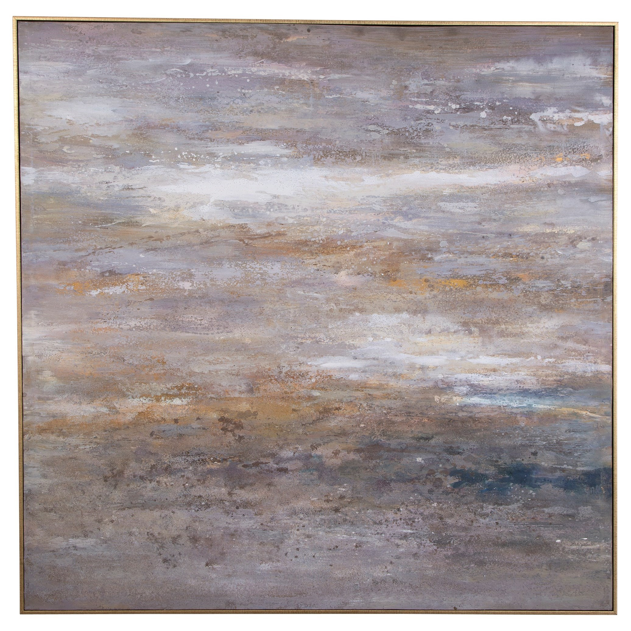 Art Retrograde Hand Painted Canvas Art by Uttermost at Wayside Furniture