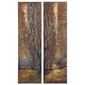 Tree Panels Set of 2