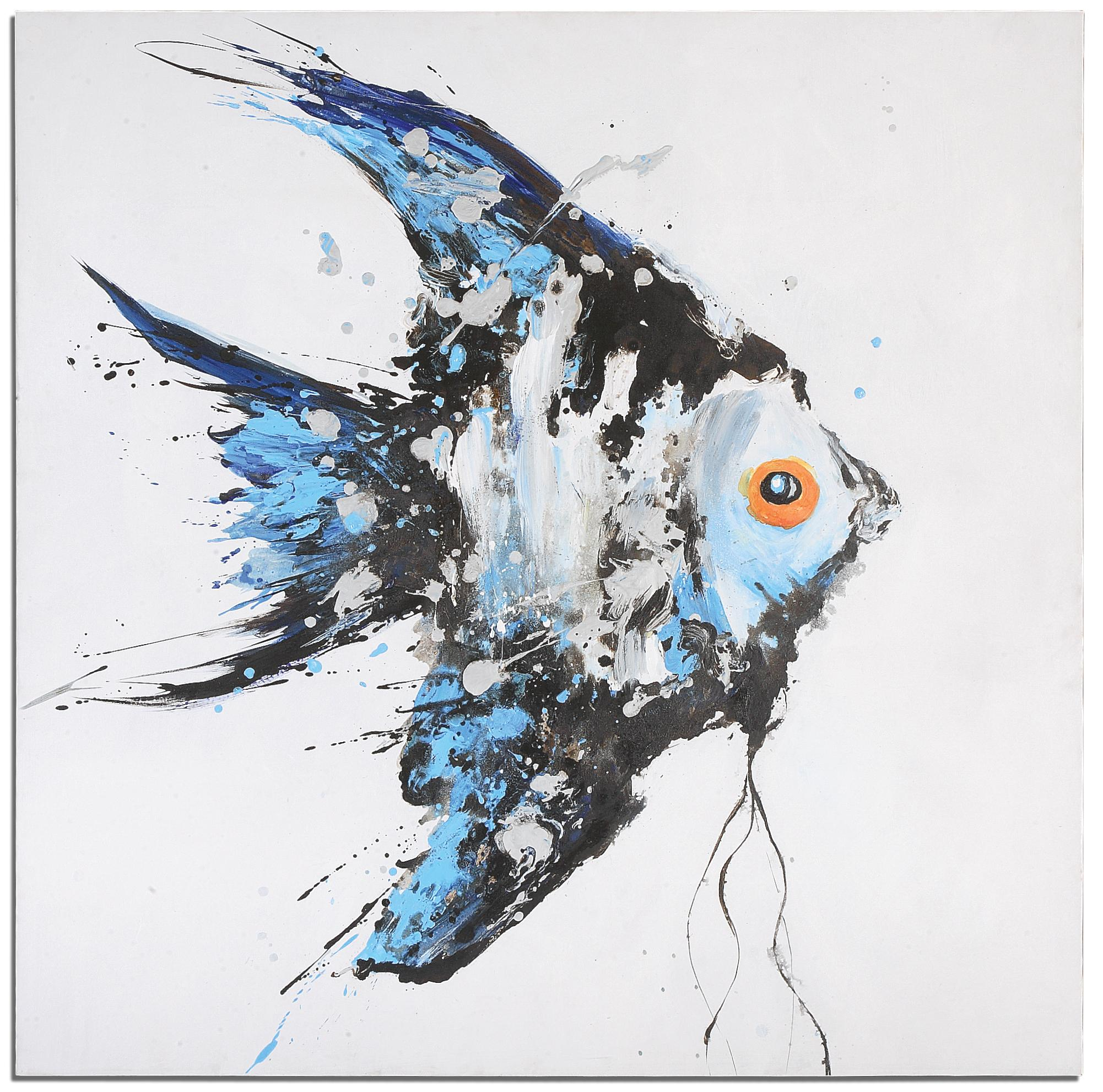 Art Blue Angel by Unique at Walker's Furniture