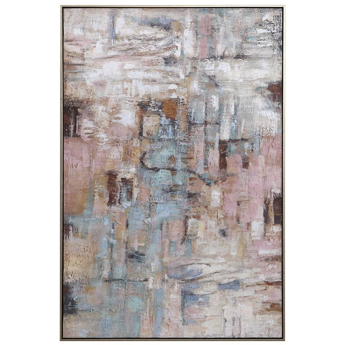 Art Morning Sunrise Hand Painted Canvas by Uttermost at Wayside Furniture