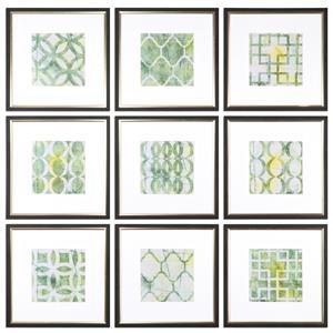 Metric Links Geometric Art, S/9