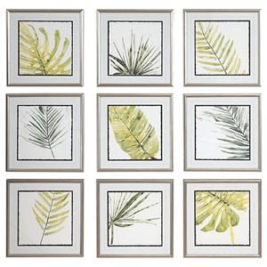 Verdant Impressions Leaf Prints