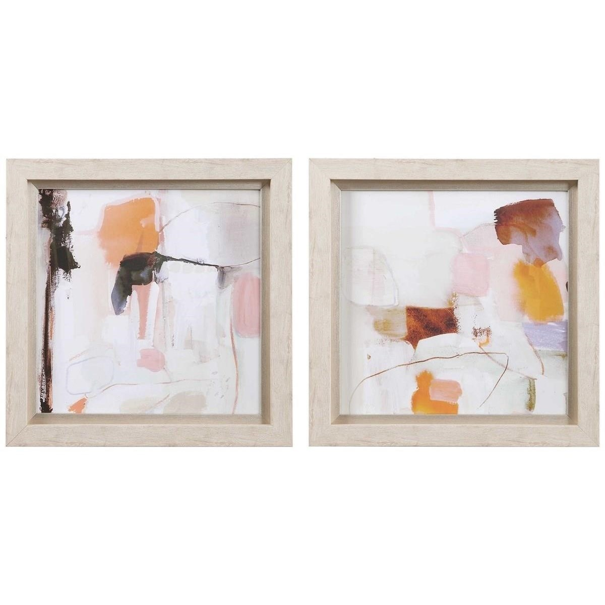 Framed Prints Ravel Framed Prints, Set/2 by Uttermost at Dunk & Bright Furniture