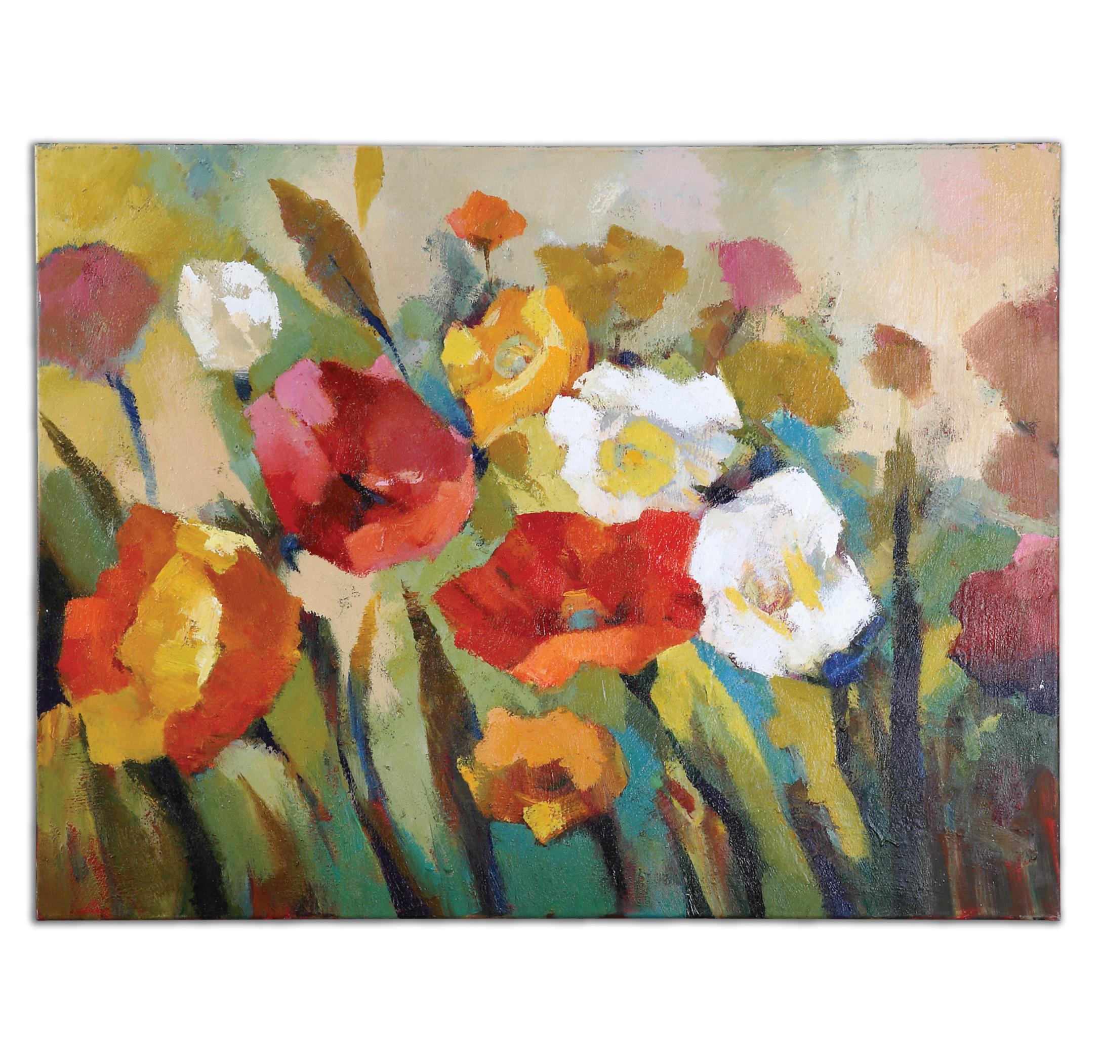 Art Spring Has Sprung Floral Art by Uttermost at Mueller Furniture