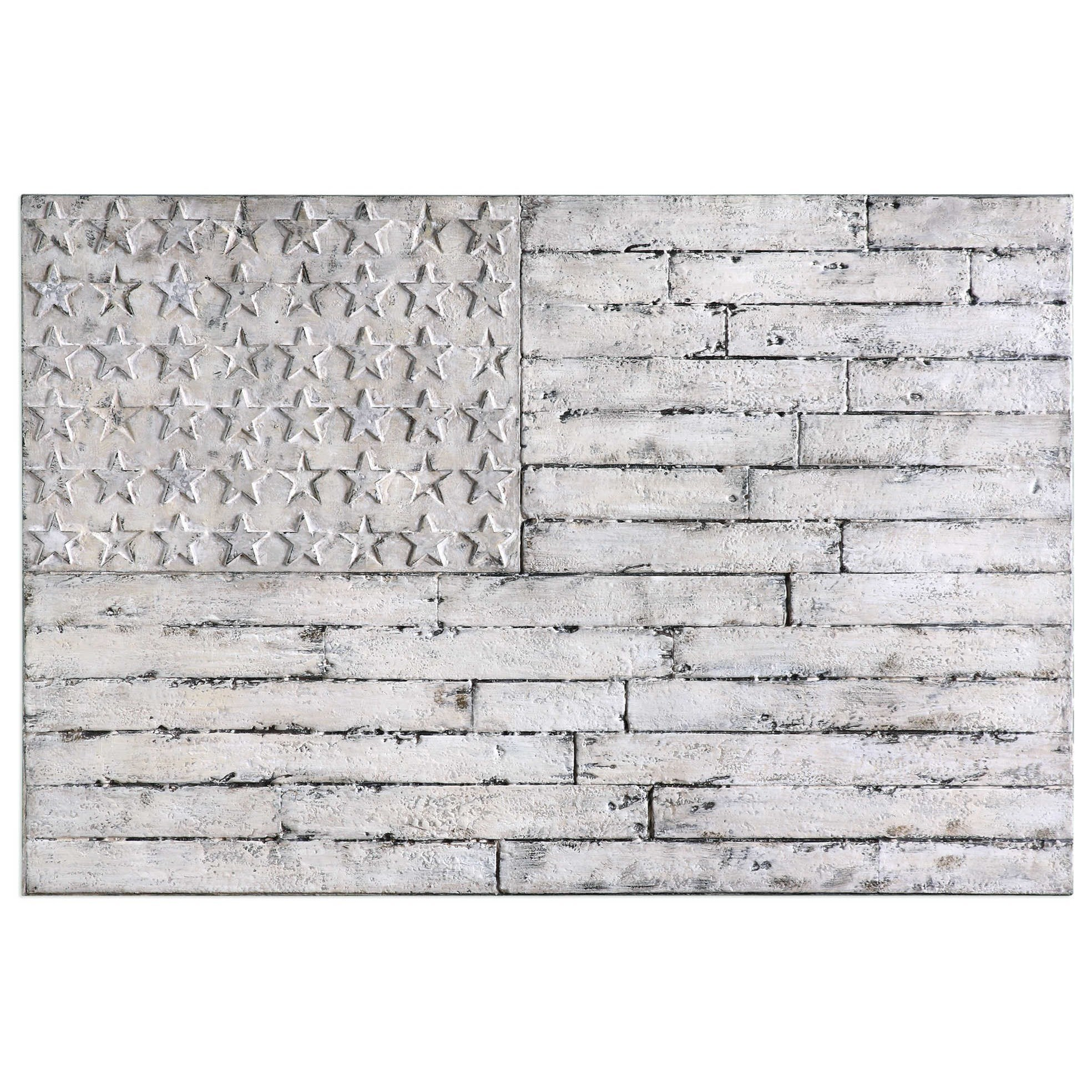 Alternative Wall Decor Blanco American Wall Art by Unique at Walker's Furniture