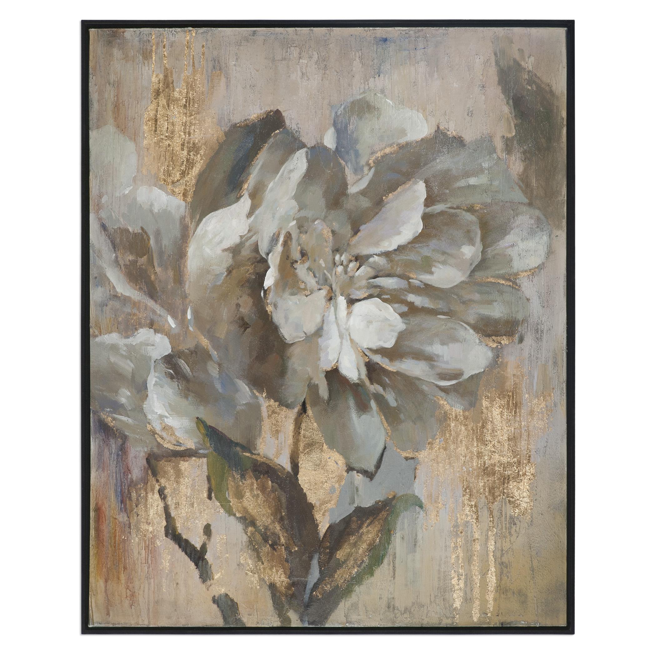 Art Dazzling Floral Art by Unique at Walker's Furniture