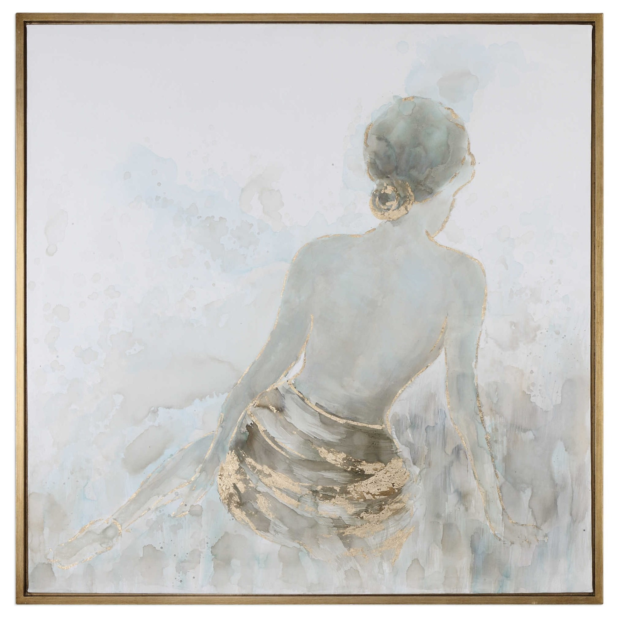 Art Gold Highlights Feminine Art by Uttermost at Mueller Furniture