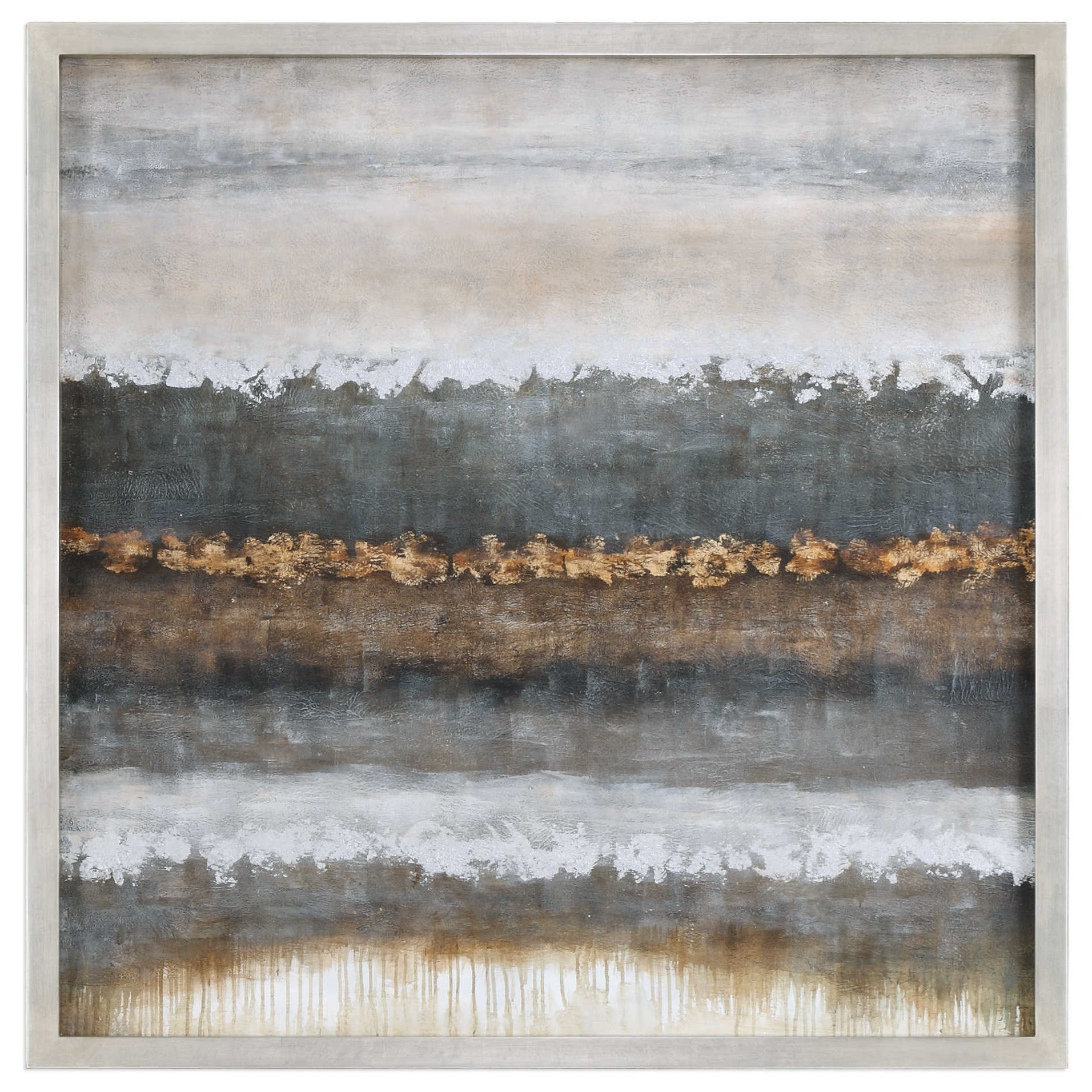 Art Layers Landscape Art by Uttermost at Miller Waldrop Furniture and Decor