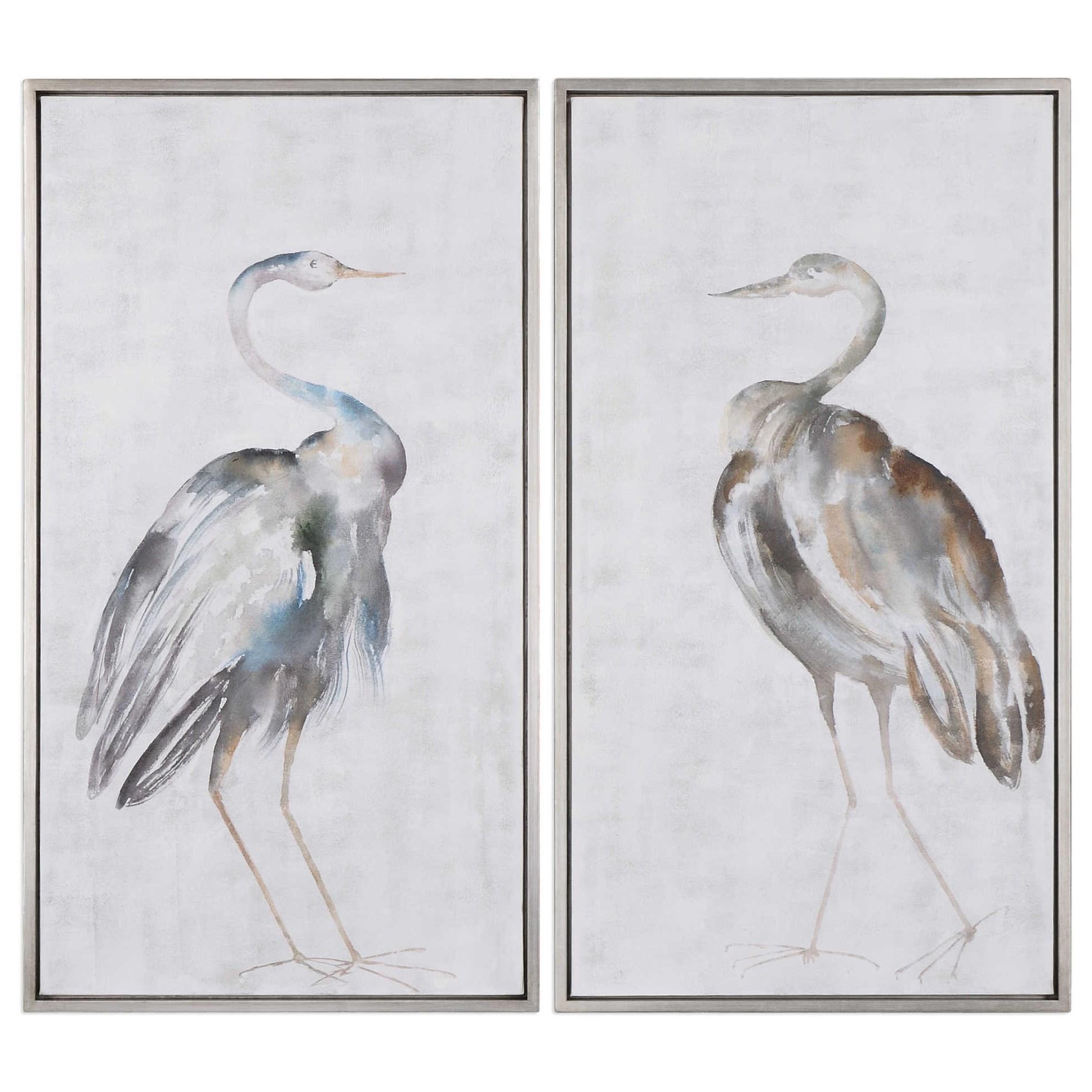 Art Summer Birds Framed Art Set of 2 by Uttermost at Wayside Furniture