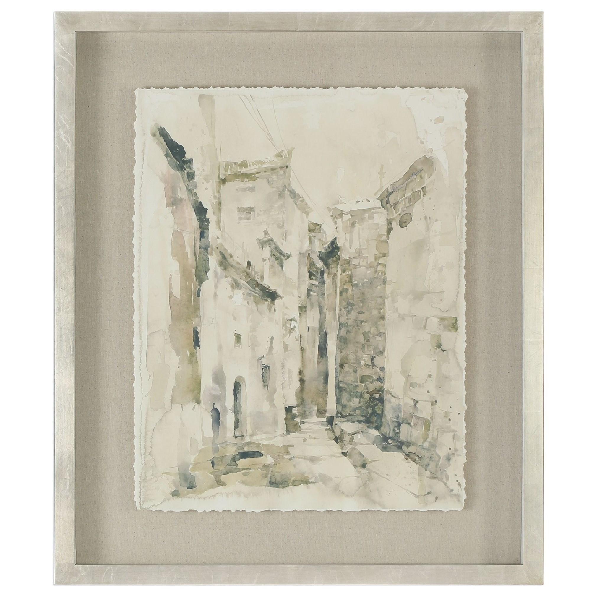 Framed Prints Alley Vintage Art by Uttermost at Mueller Furniture