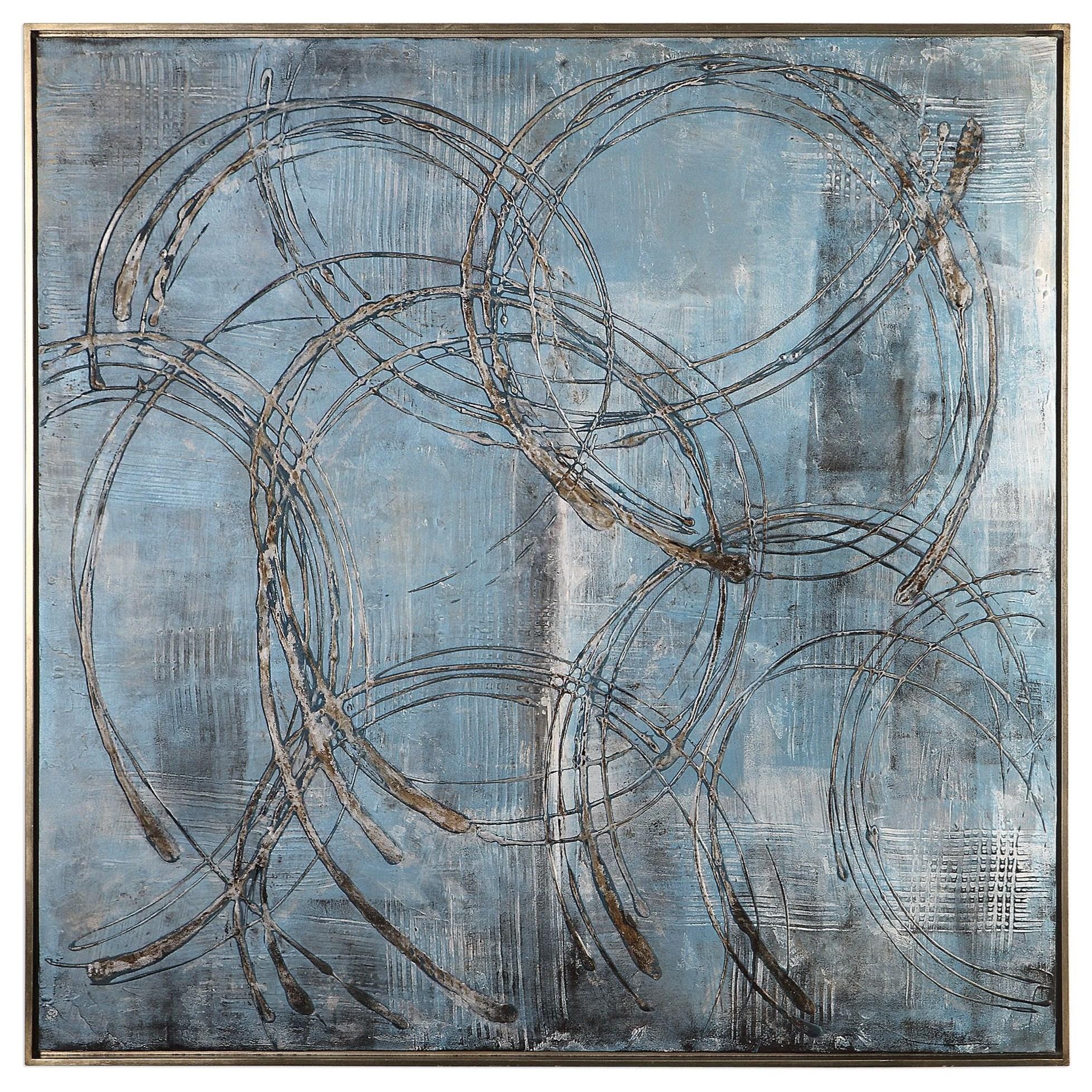 Art Interlock Modern Art by Uttermost at Wayside Furniture