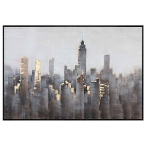 Hand Painted Skyline