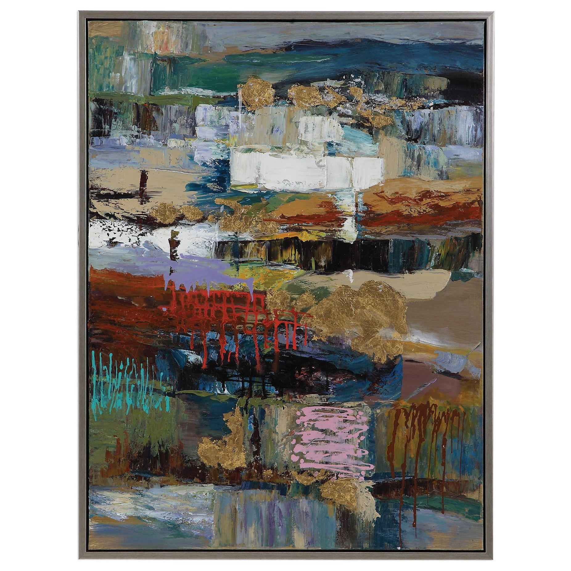 Art Fiesta Hand Painted Canvas by Uttermost at Wayside Furniture