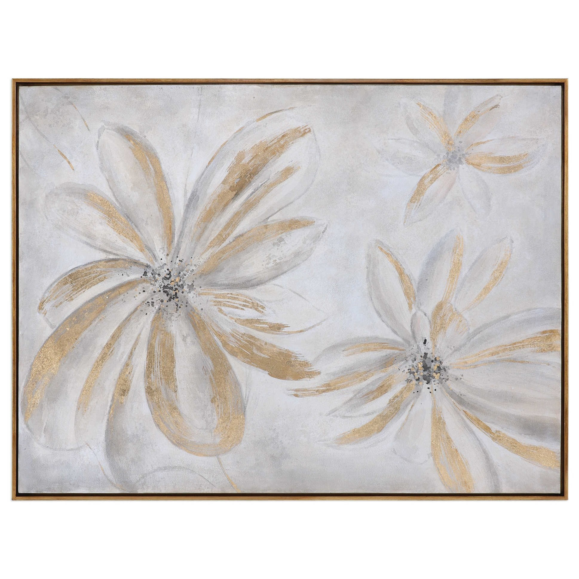 Art Daisy Stars Floral Art by Uttermost at Wayside Furniture