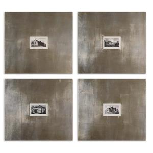 Historical Buildings Set of 4