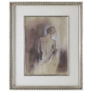 Contemporary Draped Figure Feminine Art