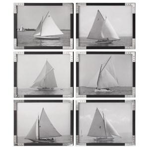 Set of 6 Sailboat Prints