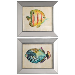Set of 2 Aquarium Fish Prints