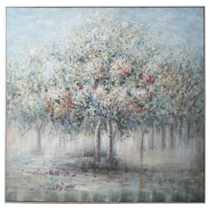Fruit Trees Landscape Art