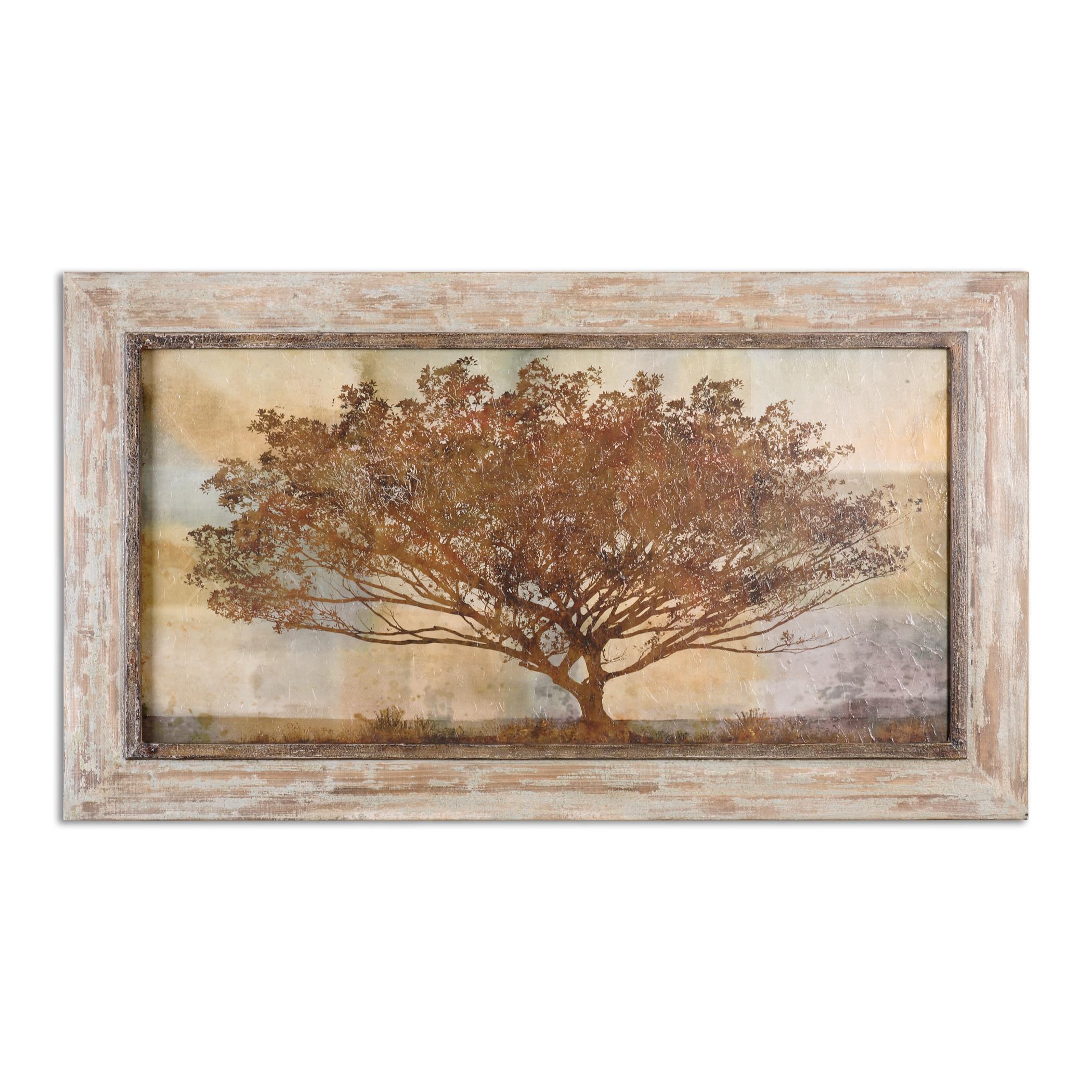 Art Autumn Radiance Sepia Framed Art by Uttermost at Reid's Furniture