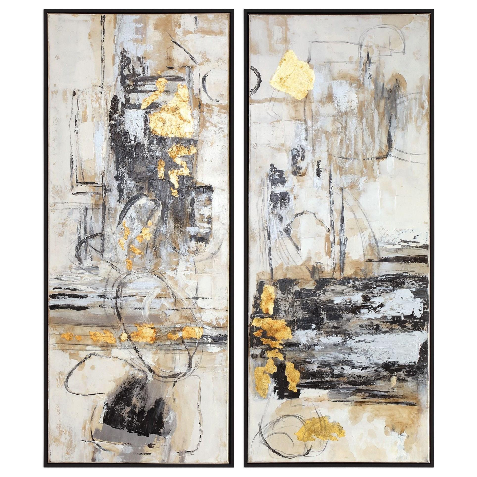 Life Scenes Abstract Art