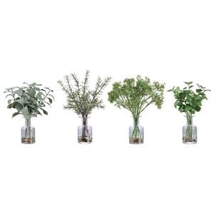 Ceci Kitchen Herbs, Set/4