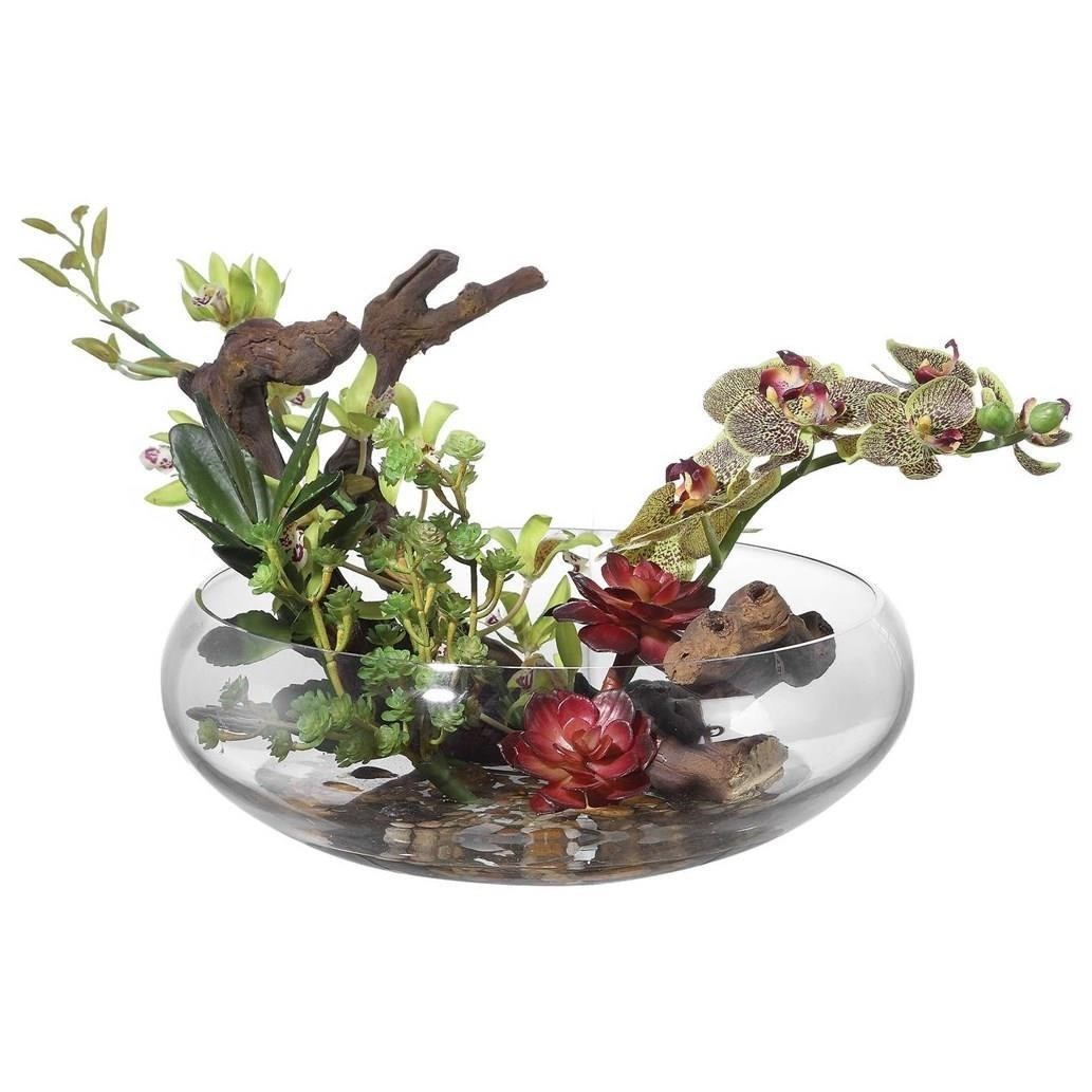 Botanicals Hala Silk Centerpiece by Uttermost at Furniture Superstore - Rochester, MN