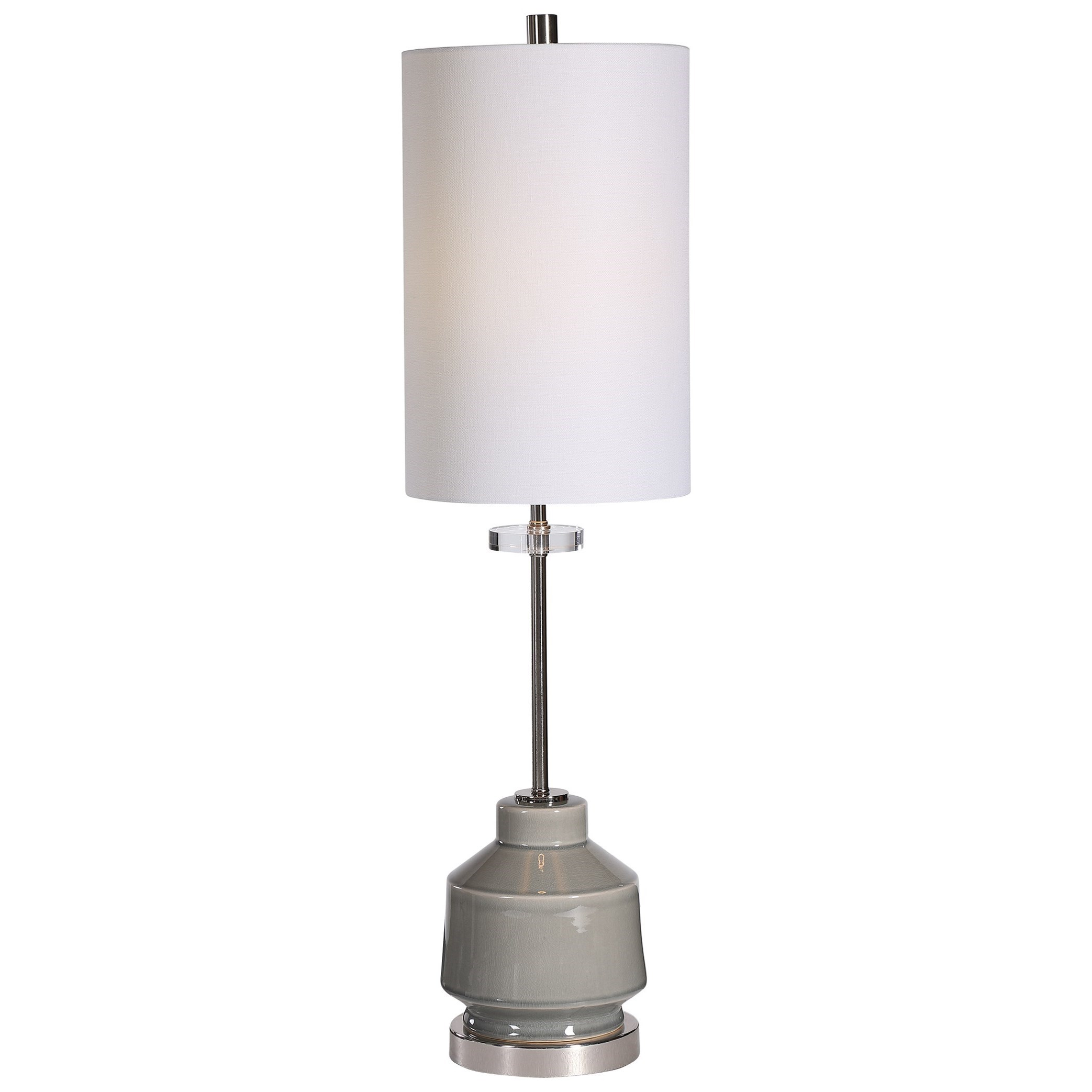 Buffet Lamps Porter Warm Gray Buffet Lamp by Uttermost at Suburban Furniture