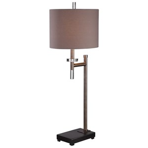Dark Bronze Buffet Lamp
