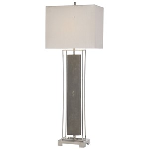 Sakana Gray Buffet Lamp