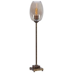 Marconi Brass Buffet Lamp