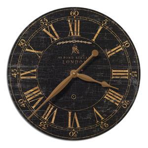 """Uttermost Clocks Bond Street 18"""" Clock"""