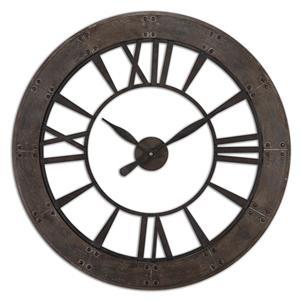 Uttermost Clocks Ronan Wall Clock