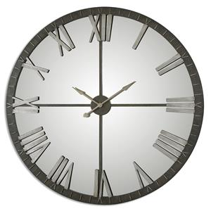 Amelie Large Bronze Wall Clock