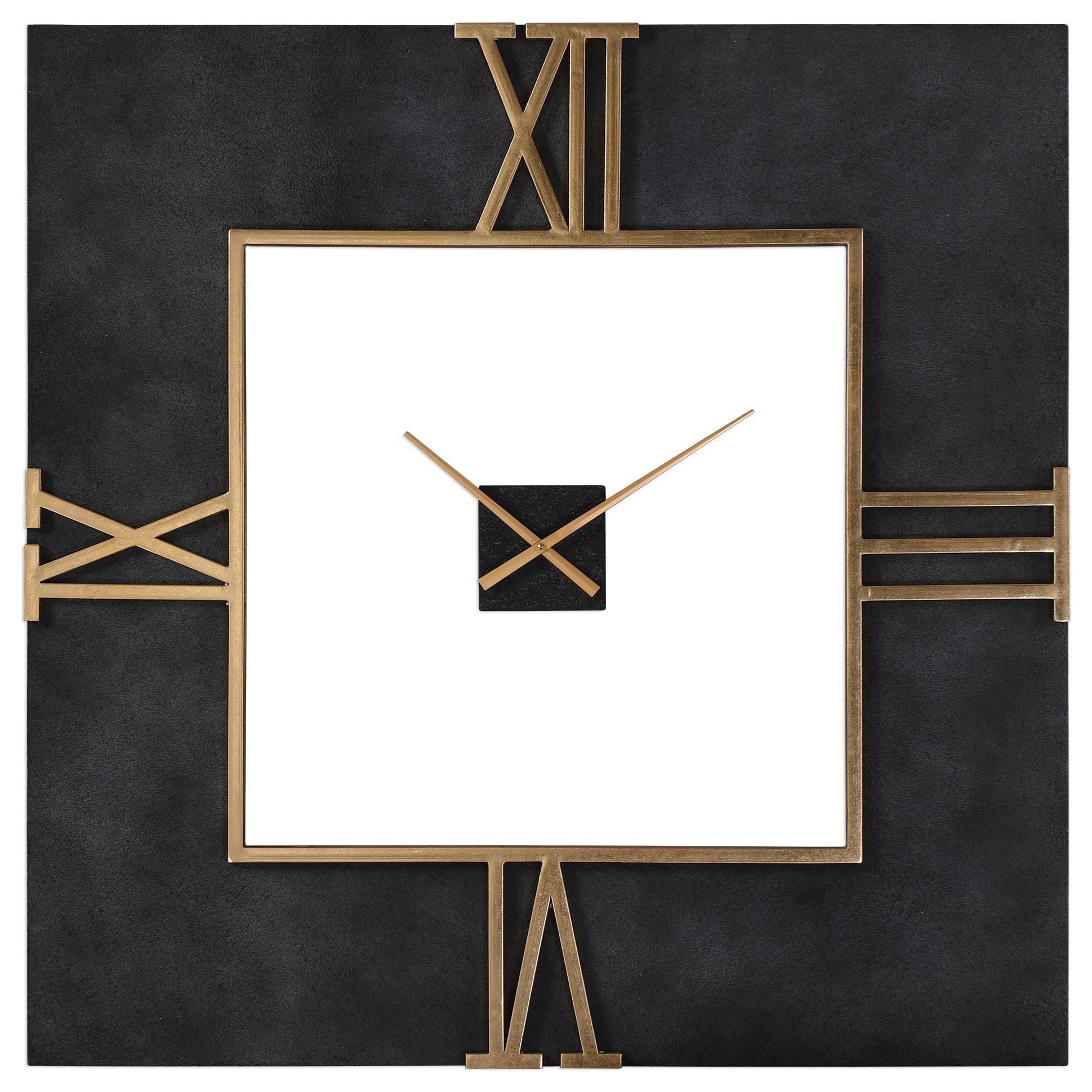 Clocks Uttermost Mudita Square Wall Clock by Uttermost at Mueller Furniture