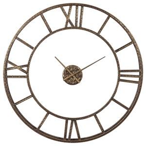 Mylah Gold Wall Clock
