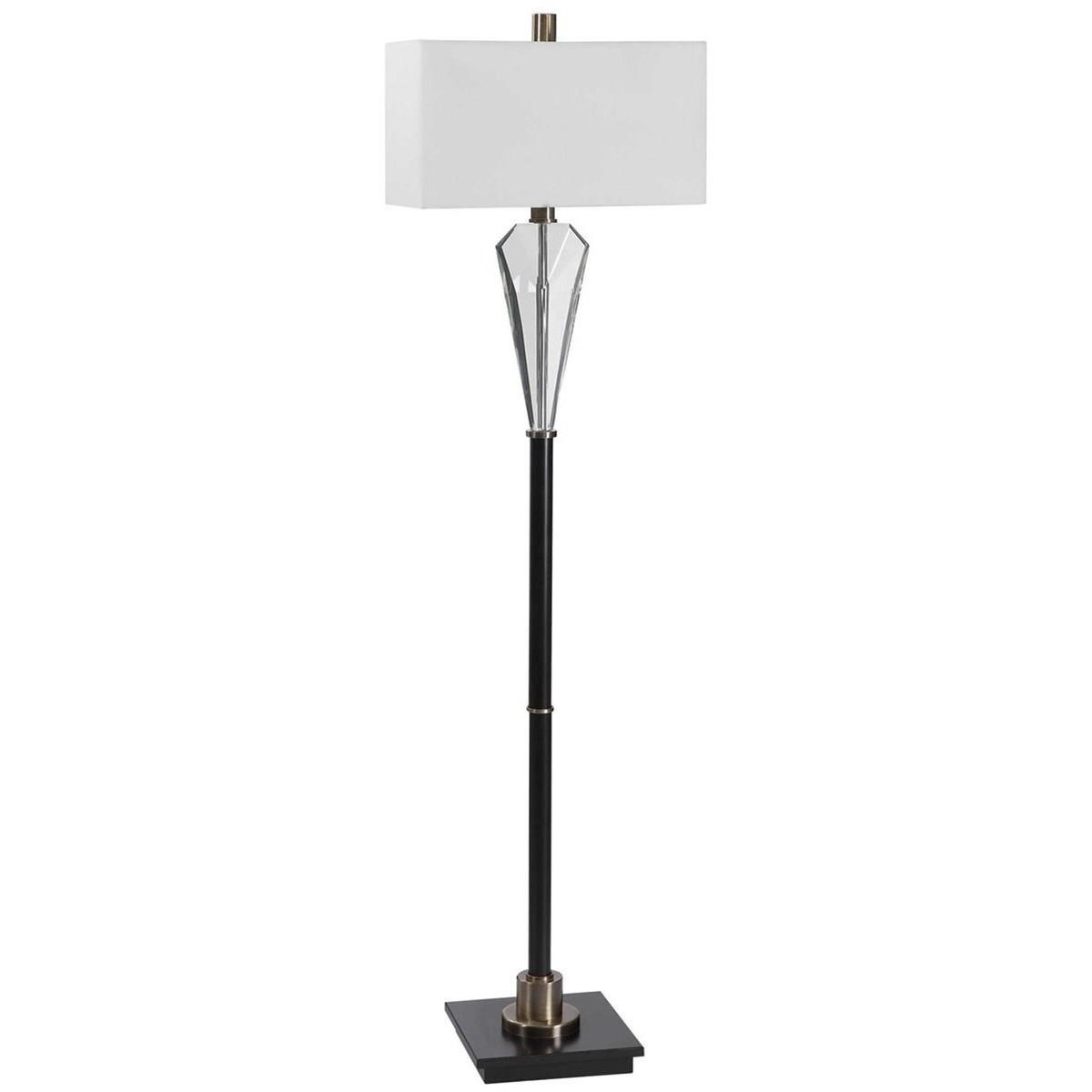 Floor Lamps Cora Contemporary Floor Lamp by Uttermost at Mueller Furniture