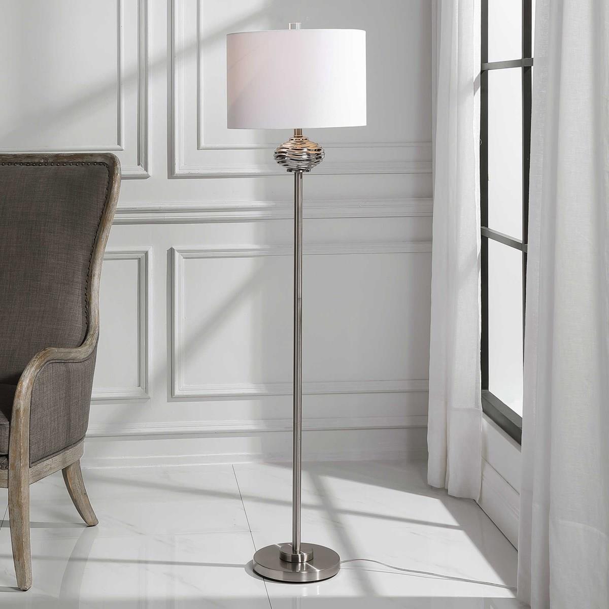 Floor Lamps CATALINA FLOOR LAMP by Unique at Walker's Furniture