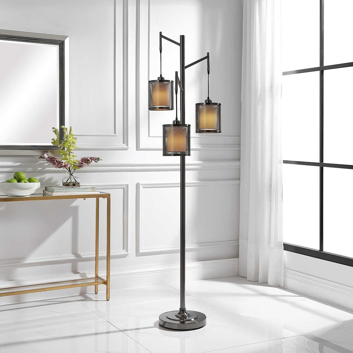 Floor Lamps SYDNEY FLOOR LAMP by Unique at Walker's Furniture