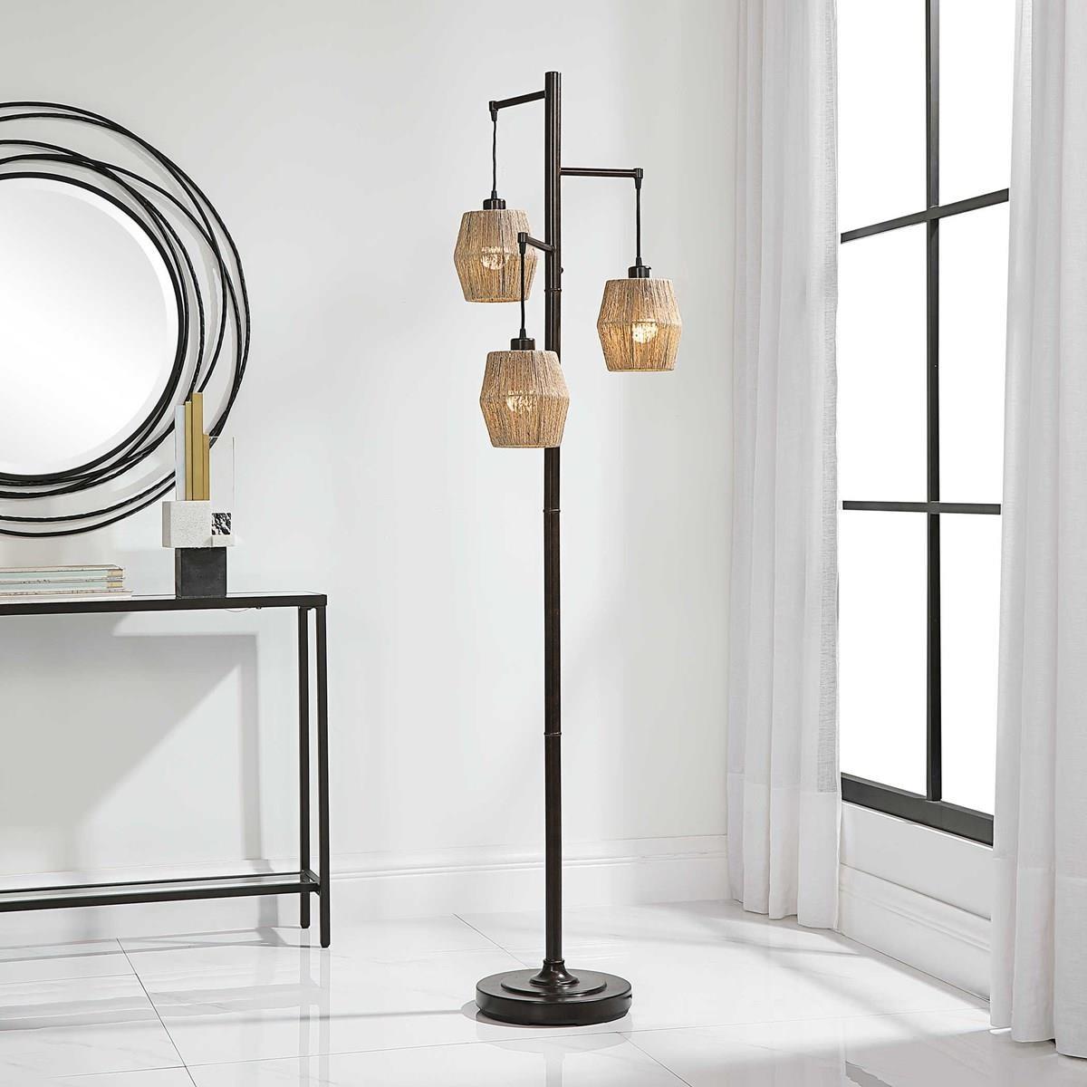 Floor Lamps PRESLEY FLOOR LAMP by Unique at Walker's Furniture
